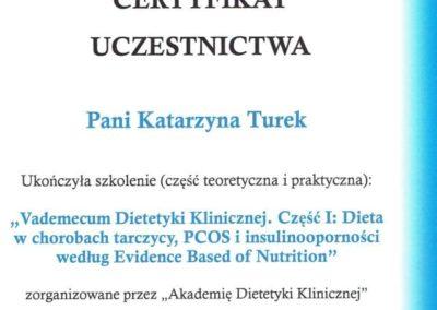 Katarzyna Turek - vademecum dietetyki klinicznej