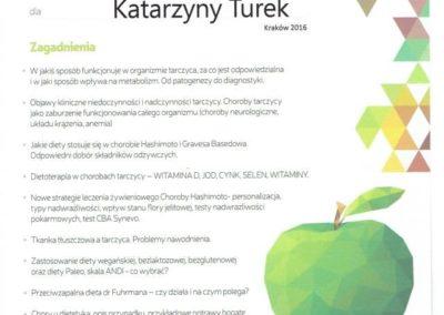Katarzyna Turek - zywienie w chorobach tarczycy