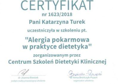 Katarzyna Turek Alergia w praktyce dietetyka