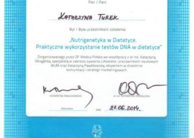 Katarzyna Turek genodiet